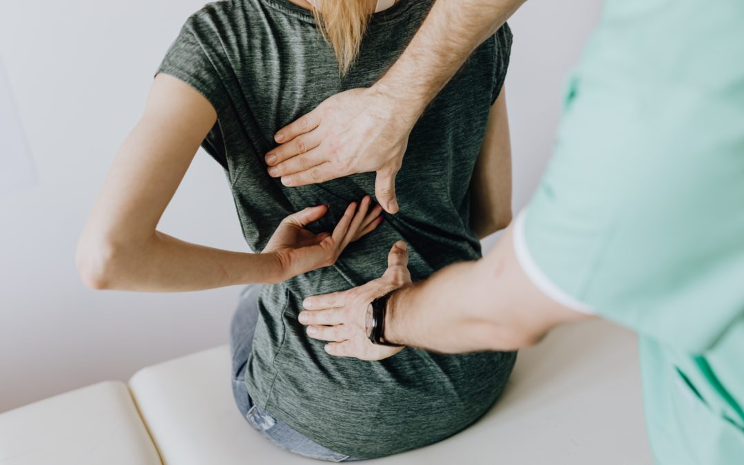 Chiropractic Adjustment for Upper Back Pain
